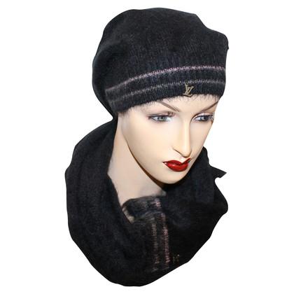 Louis Vuitton Mohair sciarpa e protezione