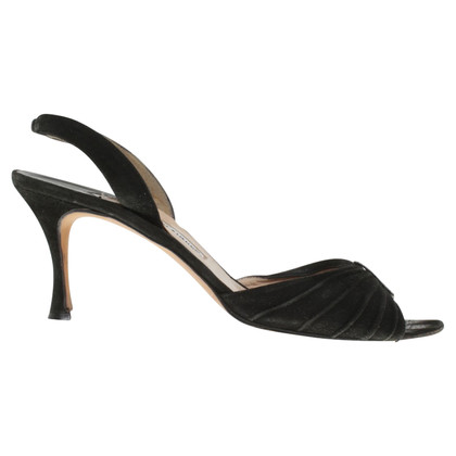 Manolo Blahnik Sandals in zwart