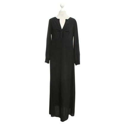 Twin-Set Simona Barbieri Silk dress in black