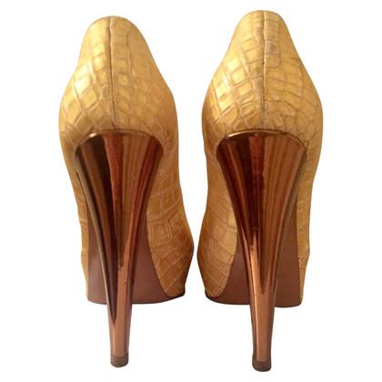 Sergio Rossi pumps gemaakt van krokodillenleer
