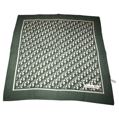 Christian Dior Monogram Scarf Silk