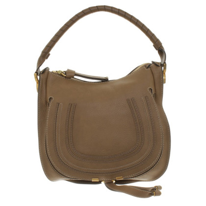 "Chloé ""Marcie Hobo Bag"" a Brown"