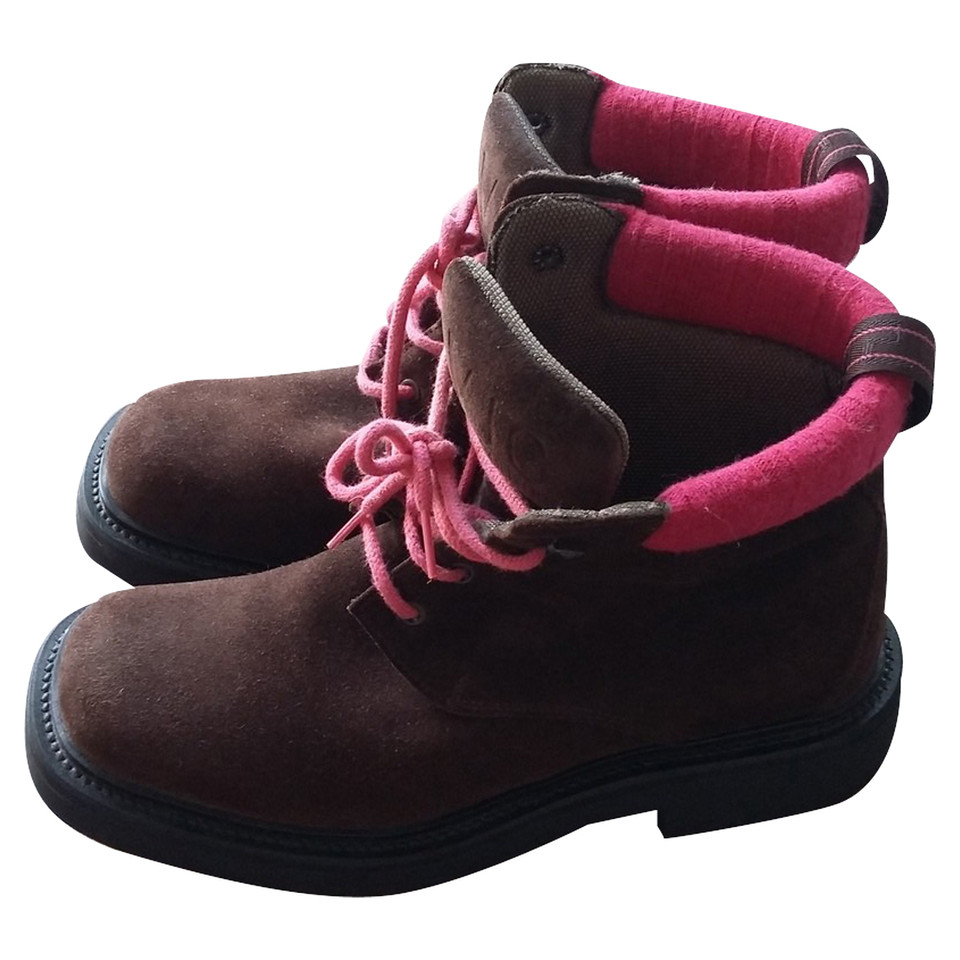 Versace Suede boots