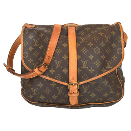 "Louis Vuitton ""Saumur 35 Monogram Canvas"""