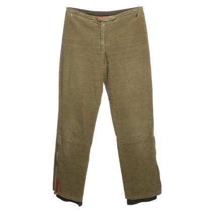 Prada Pantaloni di velluto all'aperto