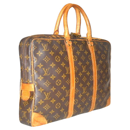"Louis Vuitton ""Porte Documents Monogram Canvas"""