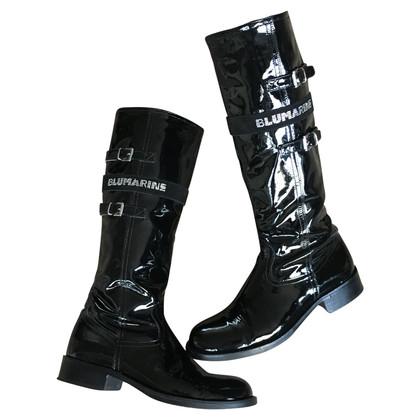 Blumarine Patent leather boots
