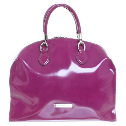 Coccinelle Patent leather handbag in Fuchsia