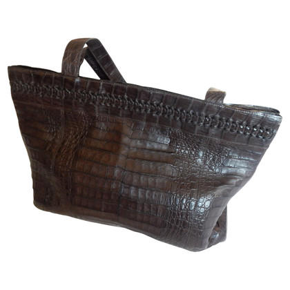 Nancy Gonzalez Crocodile leather handbag