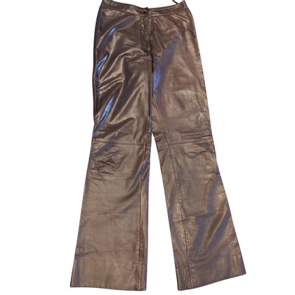 René Lezard leather pants