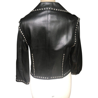 Dolce & Gabbana Leather jacket with rivets