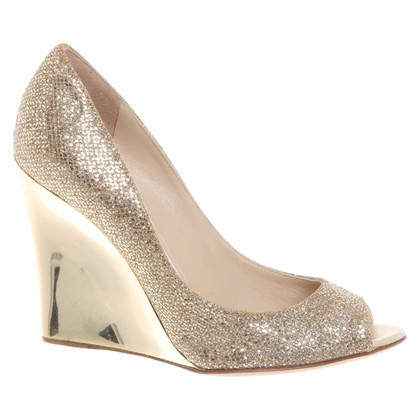 Jimmy Choo Wedges with application