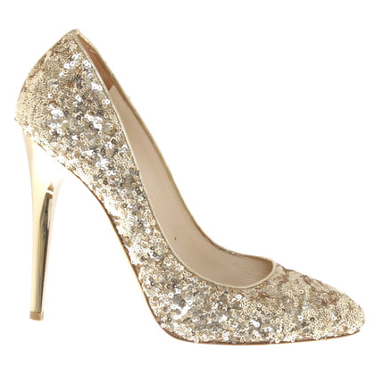 Jimmy Choo pumps in goud
