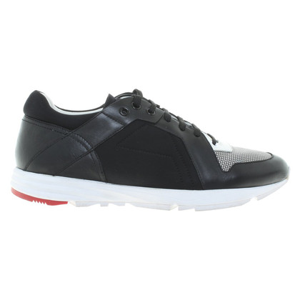 Hugo Boss Sneakers in zwart / White