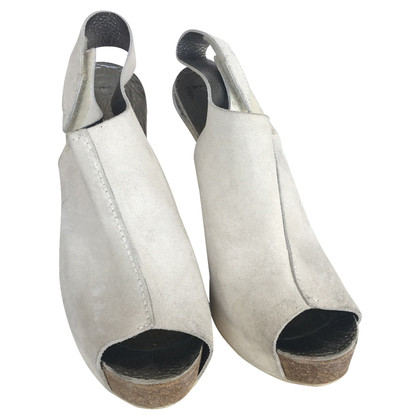 Pedro Garcia Pedro Garcia peep toe sandales en daim