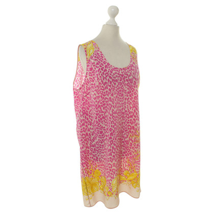 Versace Silk dress with brand-typical pattern