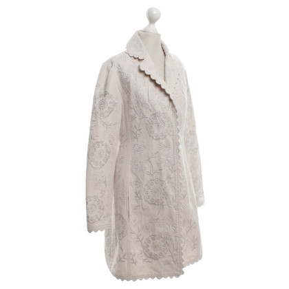 Day Birger & Mikkelsen Coat with embroidery pattern
