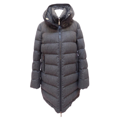 Moncler Wool coat with down