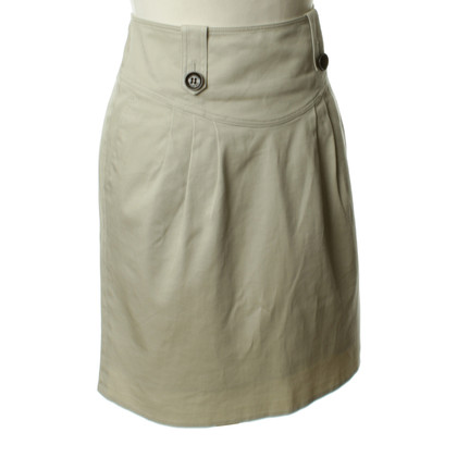 Burberry Prorsum Cotton skirt in beige