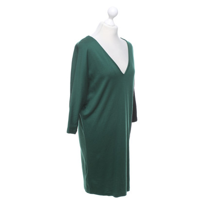 Diane von Furstenberg Wool dress in green / grey