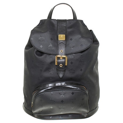 MCM Backpack with logo embossed