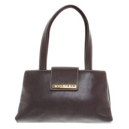 Bulgari Handbag in eggplant
