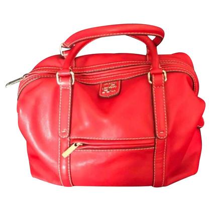 Carolina Herrera Lederen handtas in rood