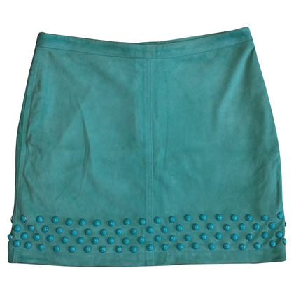 Blumarine leather skirt