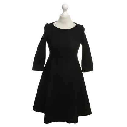 Cacharel Black Wool Dress
