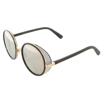 Jimmy Choo Lunettes de soleil avec des verres miroir