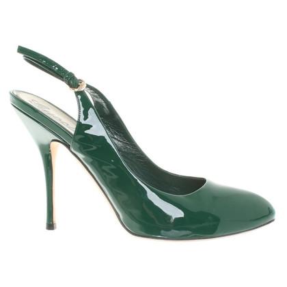 Gucci groen pumps