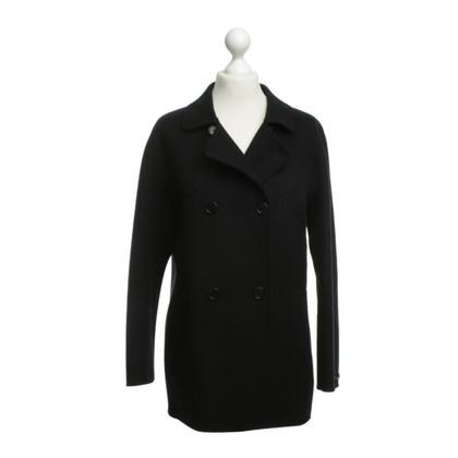 Max Mara Short coat in black