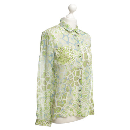 Marc Cain Bluse mit Blumenmuster