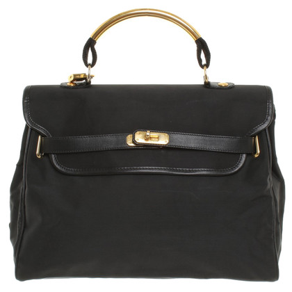 Moschino Nylon shoulder bag in black