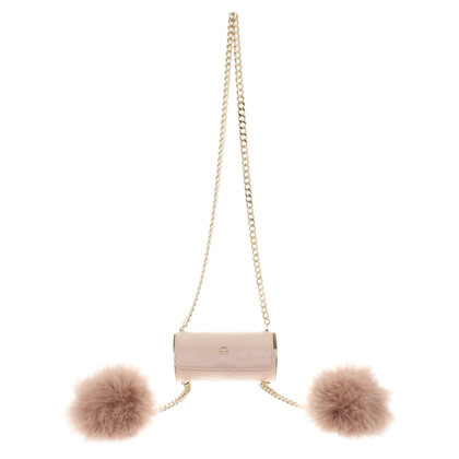 Aigner Shoulder bag with fur details