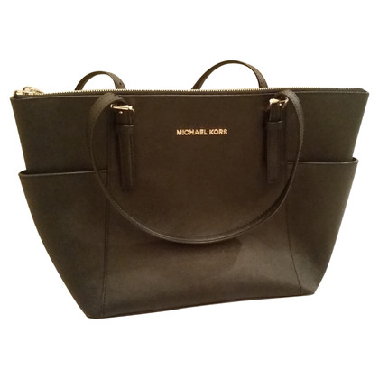 Michael Kors Cabas leather bag