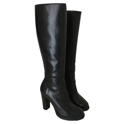 Jil Sander Zwarte laarzen