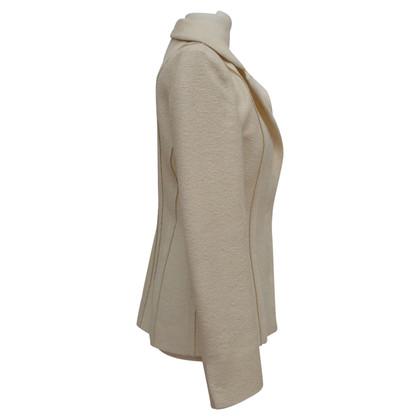Fendi Giacca blazer in crema