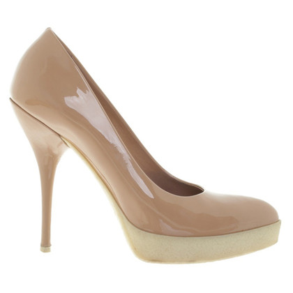 Gucci pumps in Nude