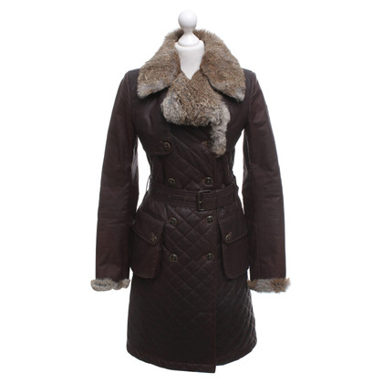 Belstaff Coat with fur trim