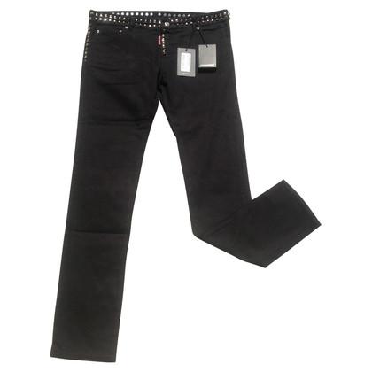 Dsquared2 Jeans met studs trim