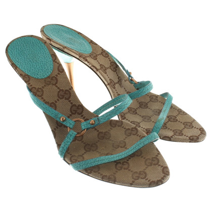 Gucci Mules in brown