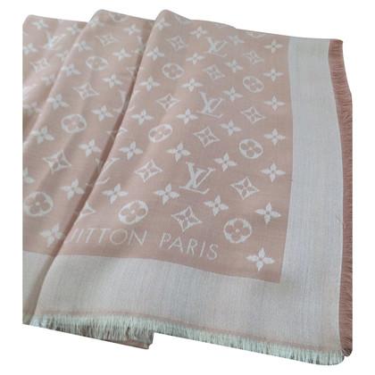 Louis Vuitton Monogram Denim panno in rosa