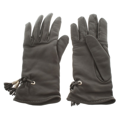 Hermès Handschuhe aus Lammleder