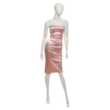 Dolce & Gabbana Satin dress in pink