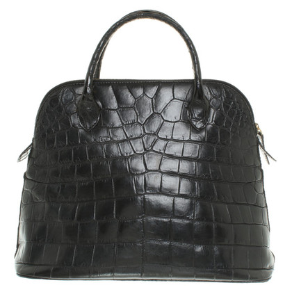 Jil Sander Handbag reptile leather