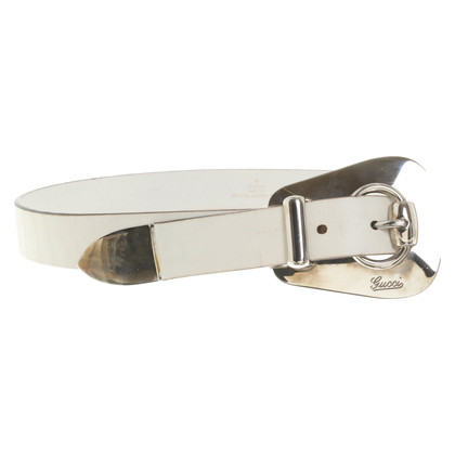 Gucci Belt with silver buckle