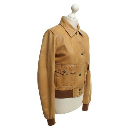 Belstaff Camel leather jacket