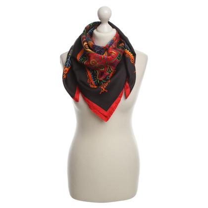 Hermès Sciarpa di seta in multi colorate