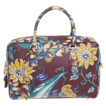 Prada Handbag with floral print